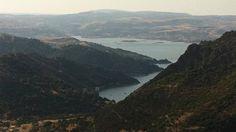 Lago Mulargia dal nuraghe di Goni