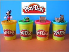 Play Doh 4 Surprise Eggs Mickey Mouse Disney Trash Wheel Treasure Chest Diego Today we're unboxing 4 Play Doh Surprise Egg Toys including Play Doh Mickey Mou. Ben And Jerrys Ice Cream, Play Doh, Treasure Chest, Mickey Mouse, Eggs, Disney, Youtube, Food, Egg