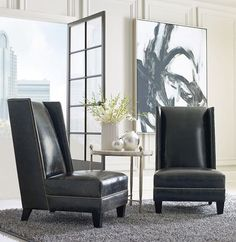 They make a great pair... #ambiance #ambiancehome #furniture #furniturestores #chairsofinstagram #irvine #irvinedesign #irvinefurniturestores #orangecounty #orangecountydesign #interiordesign