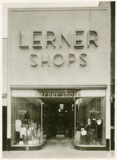 Lerner Shops, Brooklyn, NYC, New York Historic 1930s Photo, NY Public Library Digital Gallery If I ever went back in time, you'd bet I'd go shopping. (Although sadly I would have trouble finding clothes as I'm way too tall.) BTW, this bldg. might be there, in disguise, as commercial of this type is often redone and covered over. Floors are even chopped off. Lots of old shops on that block. From NYPL:  Brooklyn - 932 Flatbush Avenue 					 					 	 					 								 [Lerner Shops]