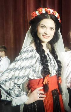 Romanian blouse Folk Costume, Costumes, Still In Love, Bucharest, Folklore, Traditional Outfits, Roots, Faces, Culture