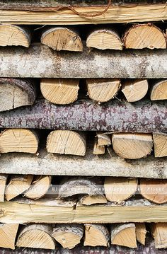 reminds me of growing up and stacking wood with/for my dad.