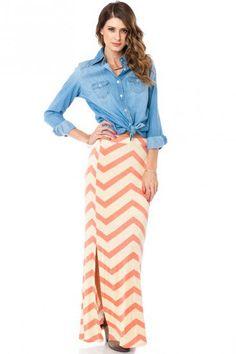 #ShopSosie                #Skirt                    #Sarabeth #Maxi #Skirt #Peach #ShopSosie.com        Sarabeth Maxi Skirt in Peach - ShopSosie.com                                  http://www.seapai.com/product.aspx?PID=863315