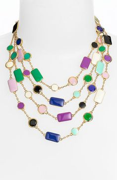 Kate Spade New York 'pop Palette' Statement Necklace