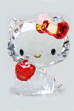 Hello Kitty In Red Apple This is a retired one from 2012 or 2013. Can't get off Swarovski site.