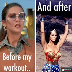 Exactly What a typical reaction is before and after a crazy workout! #GymLife #GymMemes #Motivation #FitInspiration #DarkIronFitness