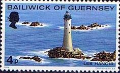 Postage Stamps Guernsey 1976 Lighthouses Set Fine Mint For Sale Well worth a Look!