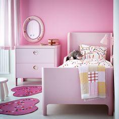 Habitaciones infantiles en color rosa palo (que no son cursis)