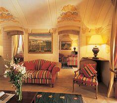 Reading Room - Castello Di Velona, Montalcino, Italy - http://www.castellodivelona.it/