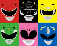 POWER RANGERS POP by sedani