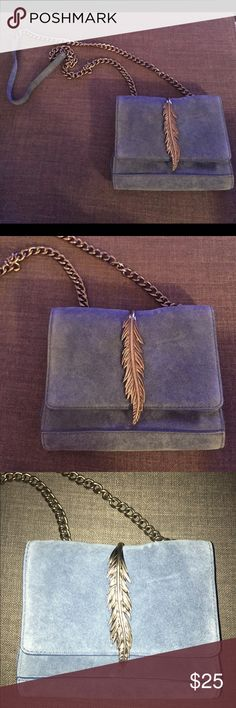 Leather bag! From Zara Cute bag with edgy metal detail Zara Bags Crossbody Bags