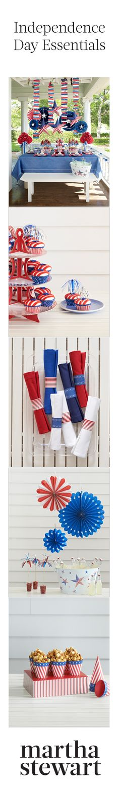 Patriotic decor ideas for the Fourth of July
