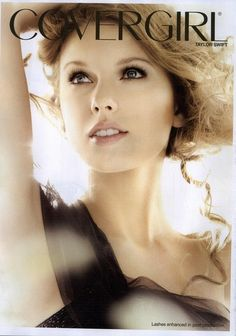 Taylor Swift's CoverGirl Mascara Ad Banned Taylor Swift Fotos, Taylor Alison Swift, Easy Breezy Beautiful Covergirl, Covergirl Mascara, Makeup Ads, Long Brown Hair, Beauty Consultant, Thats The Way, Celebs