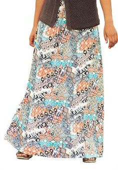 e8212a7f72695 Crinkle Maxi Skirt by Taillissime®