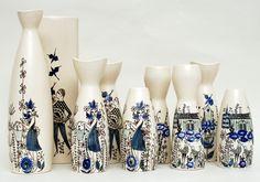 Inger Waage Vases