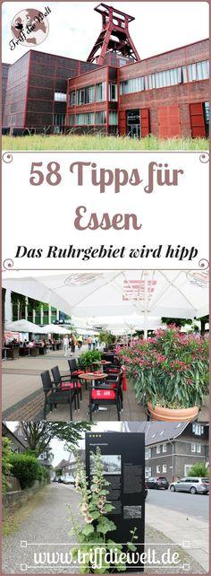 Das Ruhrgebiet wird hipp und die Stadt Essen gleich vorne weg. Die grüne Hauptstadt Europas hat so einiges zu bieten! 58 Essen Tipps zeigen dir, wie großartig der Ruhrpott heute ist. #Ruhrgebiet #Essen #Ruhrpott