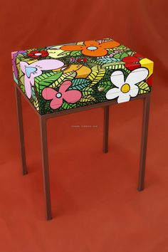 ARTE APLICADO : Claudio Baldrich Artista Plastico Sweet Home, Hand Painted, Water Colors, Painting, Furniture, Home Decor, Home, Paint Wood Furniture, Painted Wood