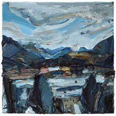 "Saatchi Art Artist Dave Gibbons; Painting, ""Otago Landscape"" #art"