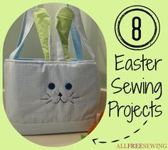 8 Easter Sewing Projects free eBook!