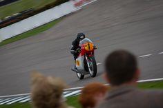 Vintage Motorcycle Racing.  Goodwood Revival 2013.