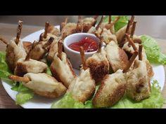 "Закуска ""Перепелиные ножки"" из теста и фарша - YouTube Baked Potato, Potatoes, Baking, Ethnic Recipes, Youtube, Food, Potato, Bakken, Essen"