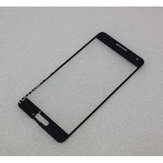 Front Outer Glass Lens for Samsung Galaxy Alpha G850 Black Repair Part Center
