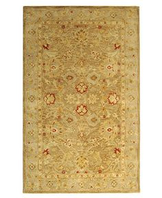 "$1000 8x11  MANUFACTURER'S CLOSEOUT! Safavieh Area Rug, Antiquity AT822B Brown/Beige 8'3"" X 11' - Traditional Rugs - Rugs - Macy's"