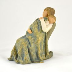 Grandmas love to rock their grandbabies ( I collect Willow Tree figurines and hadn't seen this one yet!)