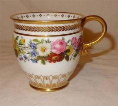 19th century Sevres French Porcelain Etruscan Shape Cup
