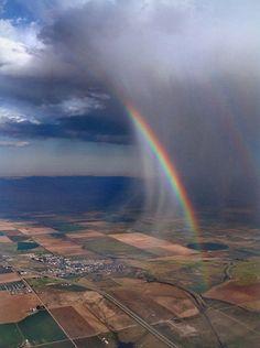 Double Rainbow #nature
