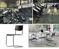 Anders 2015: 2. Toegepaste kunst steeds weer anders. Het Bauhaus zette de trend in modern design. Strakke vormen, helder materiaalgebruik en een functionele uitstraling. Men experimenteerde met nieuwe productietechnieken zoals het buigen van buismetaal. Zo ontstond bijvoorbeeld de eerste stoel zonder achterpoten!