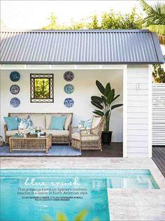 Georgica Pond home featured in Home Beautiful Magazine