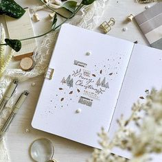 #bujo hashtag on Instagram • Photos and Videos Merry Christmas My Love, Journal Pages, Bullet Journal, Photo And Video, Bujo, Journaling, Instagram, Holidays, Videos