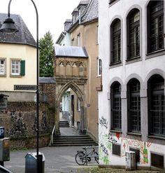 Dreikönigenpförtchen (Dreikünnijepöötzche) in Köln