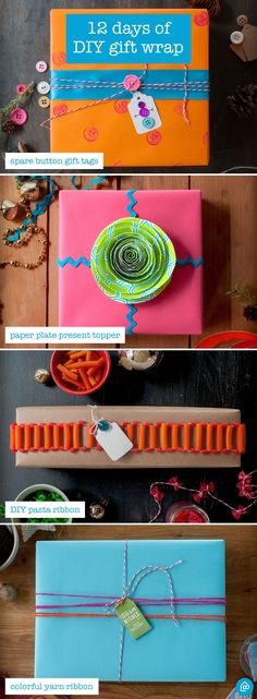 Make your gifts stand out from the rest with these creative DIY gift wrapping ideas—using things you have around the house.