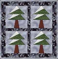 Free Paper Piecing Quilt Patterns to Print Free Paper Piecing Patterns, Paper Quilling Patterns, Quilt Block Patterns, Quilt Blocks, Paper Patterns, Paper Piercing Patterns, Christmas Quilt Patterns, Christmas Sewing, Winter Quilts