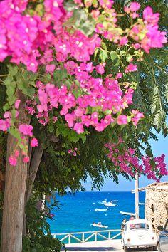Crete, Mochlos view towards the sea. It has the magic feeling of Greece