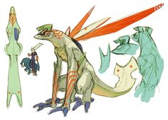 Astral Dragon - Characters & Art - Breath of Fire IV