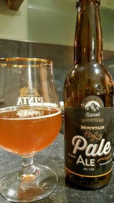 Bierol Mountain Pale Ale. Watch the video beer review here…