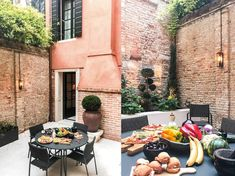 Secret and private courtyard