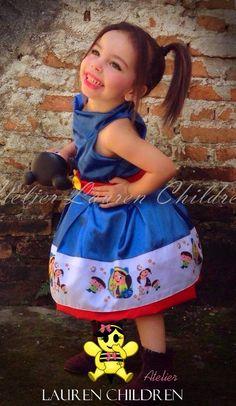 Vestido Show da Luna - Atelier Lauren Children
