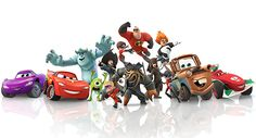 Crystal Clear Lightning McQueen Disney Infinity 1.0 voitures personnage jeu Figure