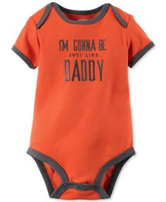 Carter's Baby Boys' Short-Sleeve Just Like Daddy Bodysuit