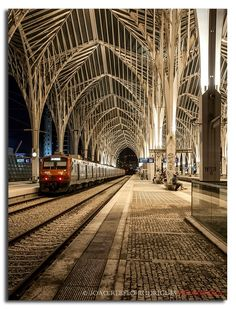 Oriente Station by master Calatrava, Lisbon - Portugal