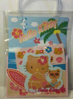 Hello Kitty Beach Fun Letter Set 2005 Sanrio Stationery