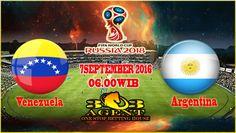 Prediksi Agen Sbobet Venezuela vs Argentina 7 September 2016 - Agen Bola Teraman