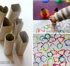 clever use of disposable rolls