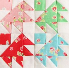 Image result for darting birds quilt block farmer's wife