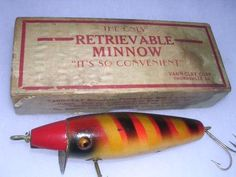"Most Creative De-Snagging Invention  ""The South claims few true classic lures, but the spring-loaded Vann-Clay Retrievable Minnow made by Thelma H. Clay of Thomasville, Ga., in the late 1920s can hold its own against any early maker."" Field & Stream"