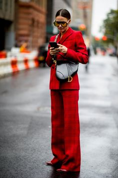 67 trendy fashion week looks chic Look Street Style, New York Fashion Week Street Style, Street Style Trends, Spring Street Style, Cool Street Fashion, Street Style Women, Street Styles, Fashion Mode, Look Fashion